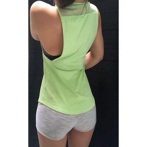 Lululemon• High Neck Mesh Muscle Tank